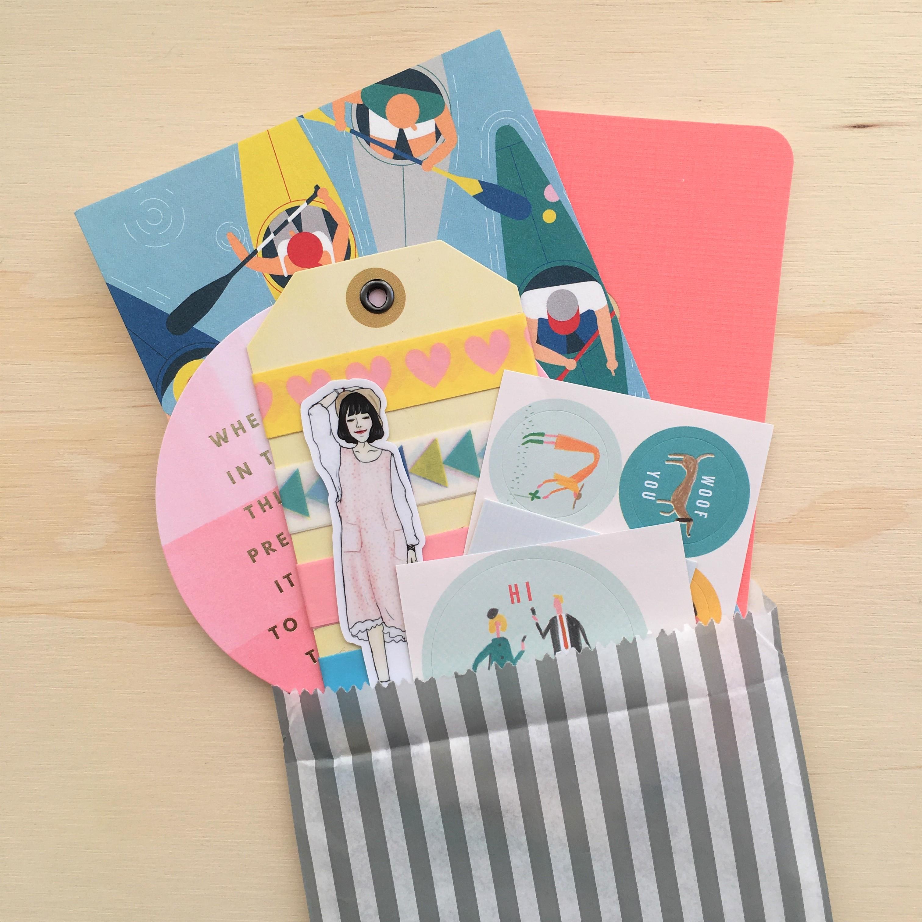 Snail Mail Kit Etsy Sandeep Beep